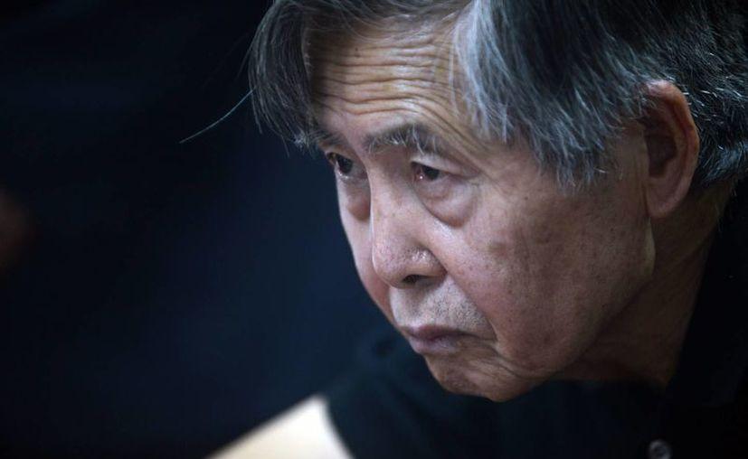 Fujimori, de 75 años, está siendo procesado peculado. (EFE)