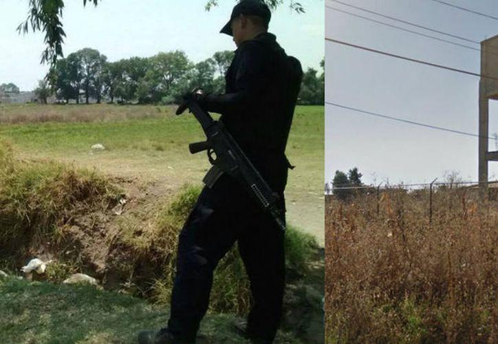 Una de las víctimas fue encontrada en un lote baldío y otra cerca de un cementerio. (Sin Embargo)