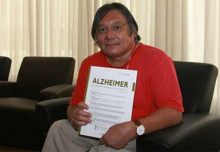 """La pasión de Raúl Mena López fue investigar el tema """"de las demencias y en particular la enfermedad de Alzheimer"""". (Excelsior/Especial)"""