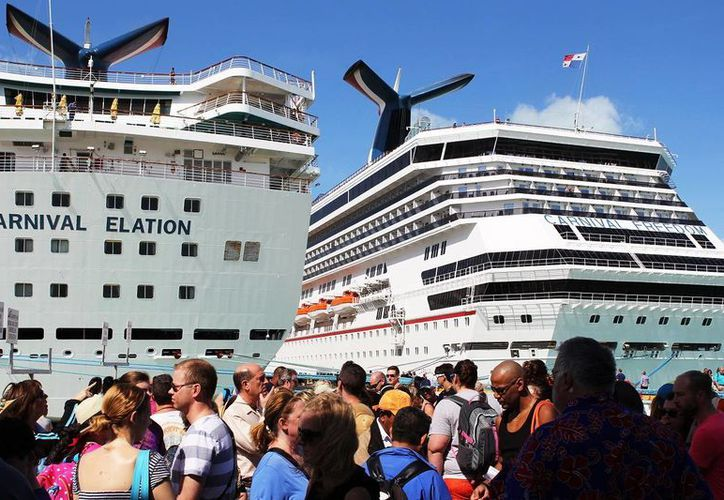 El turismo de cruceros es una prioridad para el Gobierno del Estado. (Oscar Pérez/SIPSE)
