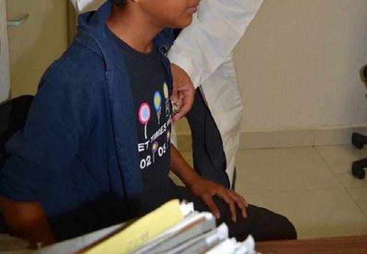 Alrededor de 10 y 12 pacientes con enfermedades respiratorias, llegan a solicitar una consulta médica. (Javier Ortiz/SIPSE)