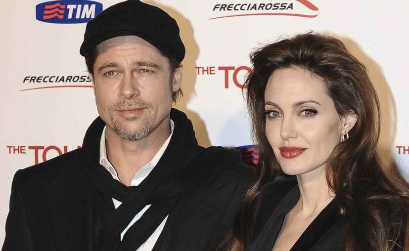 Brad Pitt y Angelina Jolie acordaron seguir un acuerdo por el bien de los niños. (Internet)