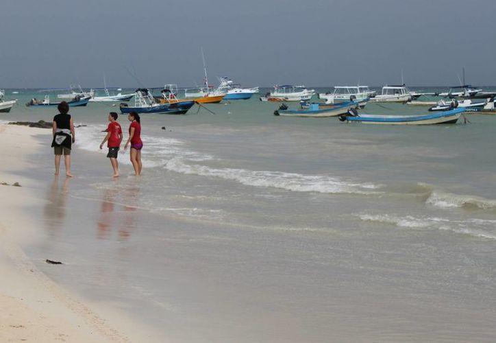 Este día se registraron actividades en la zona de playas. (Adrián Barreto/SIPSE)