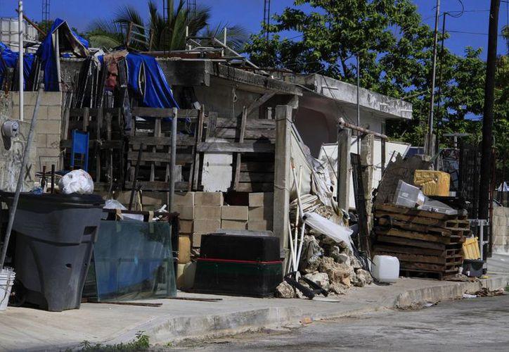 Destruirán y eliminarán los criaderos del mosco en los patios de las viviendas. (Tomás Álvarez/SIPSE)