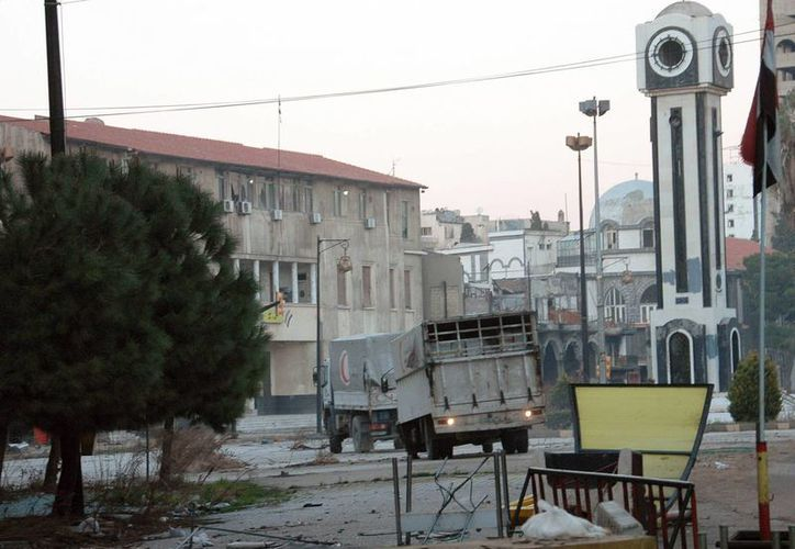 Ambas partes del conflicto sirio mantienen una tregua de tres días que permiten a la ONU evacuar a civiles y repartir ayuda. (EFE)