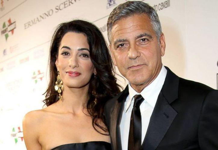 Amal Clooney dio a luz a los mellizos Ella y Alexander el pasado 6 de junio. (Contexto)