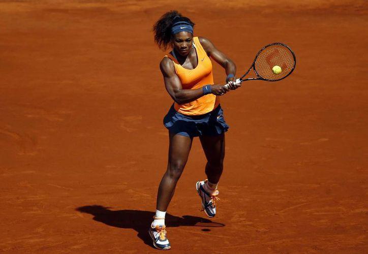 Serena ganó 6-3, 0-6 y 7-5 y avanzó a la semifinal del Masters de Madrid. (Agencias)
