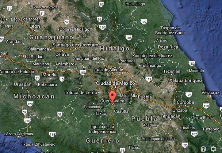 La amenaza de bomba en Las Palmas, negocio de Cuernavaca, Morelos, ocurrió a la medianoche. (Google Maps)