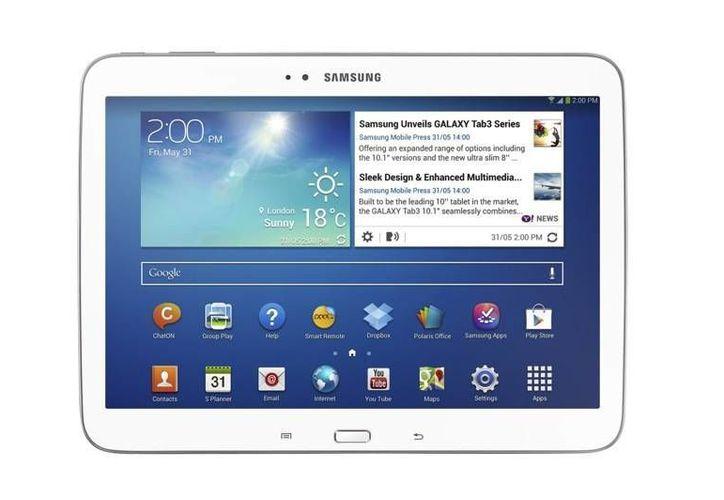 Las nuevas tabletas tendrán los mismos tres botones en el frente como los teléfonos multiusos de Galaxy. (Agencias)