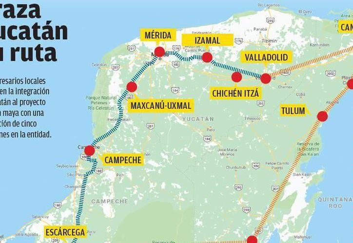 Ferrocarrileros consideran apta la infraestructura de rieles en el territorio estatal. (Milenio Novedades)