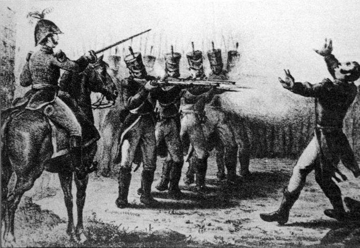 Los pelotones de fusilamiento eran muy comunes hasta la primera mitad del siglo XX. (inep.org)