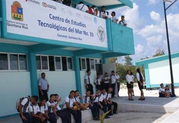 En Cozumel el edificio del Cetmar se inauguró en marzo de este año. (Cortesía)