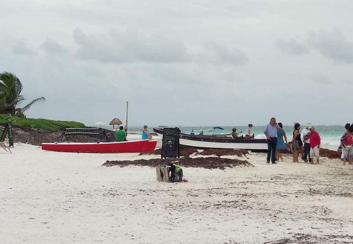 Hubo buen arribo de turistas debido al excelente clima que se registró. (Sara Cauich/SIPSE)