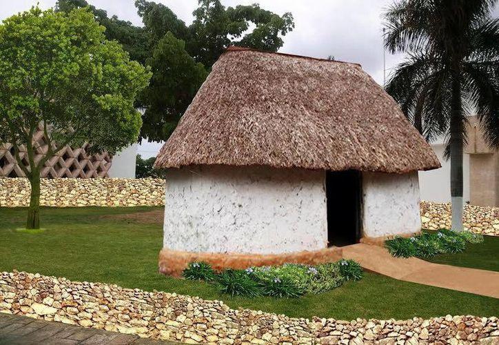 El 'Museo Casa Maya' será un espacio de aprendizaje en donde se mostrará lo que es una casa maya tradicional con elementos interactivos y digitales. (SIPSE)