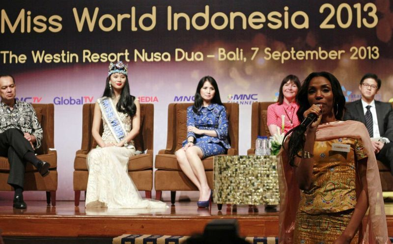 503f5f3f9928 Por presiones religiosas Indonesia muda la final de Miss Mundo a ...