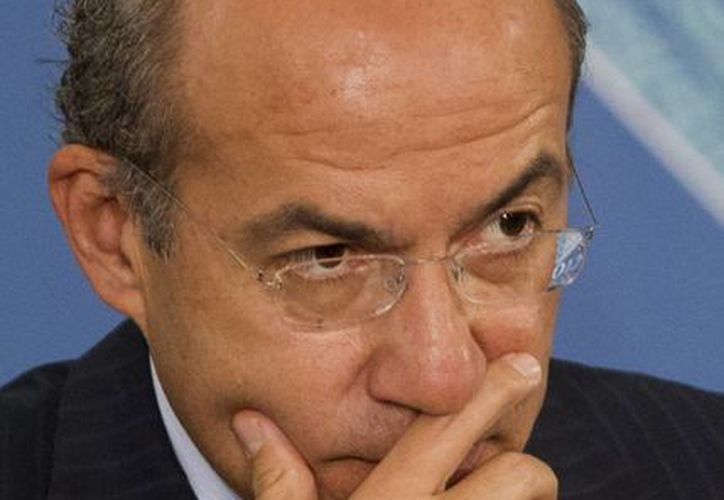 El expresidente FelipeCalderón dijo que el Estado tiene que seguir dando la batalla para defenderse del crimen. (Imagen de archivo: AP)