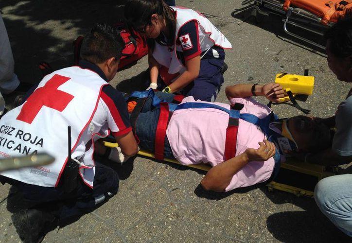 La falta de precaución es la principal causa de los atropellamientos, afirma la Cruz Roja. (Redacción/SIPSE)