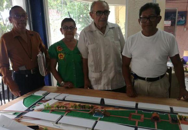 """La maqueta del Gran Parque """"La Plancha"""" muestra un proyecto que será de suma importancia para la ciudad. (SIPSE)"""