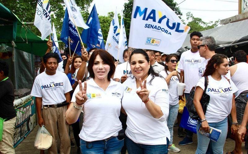 La candidata Mayuli Martinez sostuvo que la realidad actual en materia de inseguridad, es absolutamente insostenible. (Foto: Redacción/SIPSE)