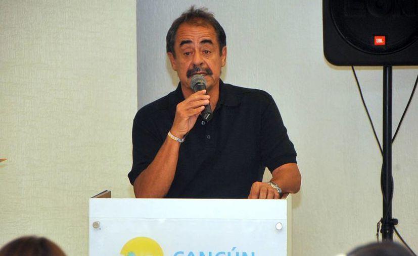 Francisco Lira, director general del parque temático. (Redacción/SIPSE)