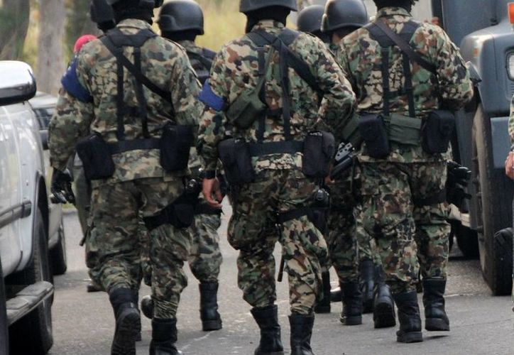 Marisela Rivera exigió explicaciones a la Marina y a diferentes instancias de justicia estatal y federal sobre la desaparición de su hijo. (Yahir Ceballos/proceso.com.mx)