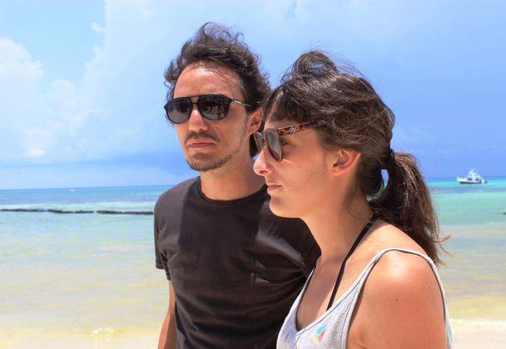 Los directores del film 'Epitafio', Yulene Olaizola y Rubén Imaz, compartieron cómo fue la génesis de la historia. (Octavio Martínez/SIPSE)