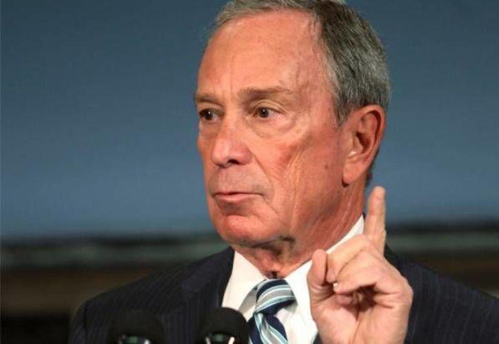 El alcalde la ciudad, Michael Bloomberg. (Archivo/AP)
