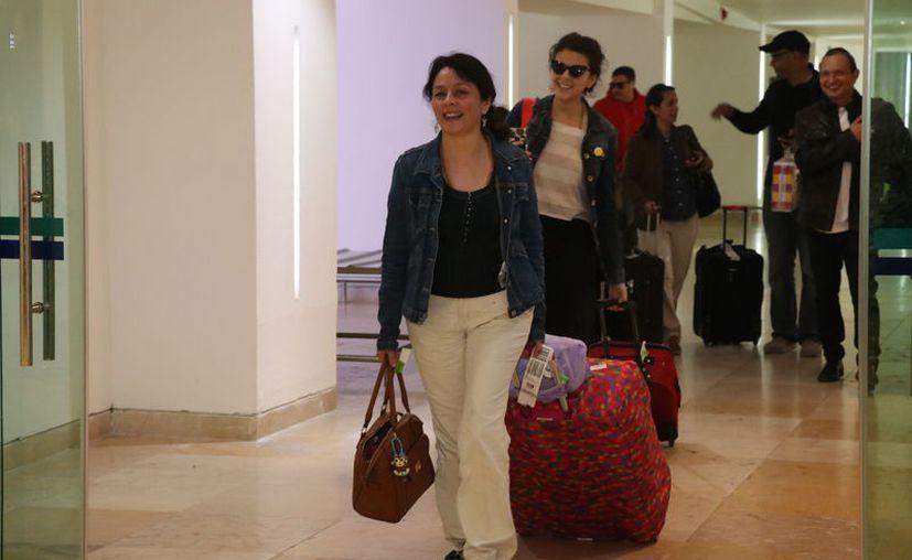 El aeropuerto de la capital yucateca realiza en promedio 120 operaciones comerciales al día (Daniel Sandoval)
