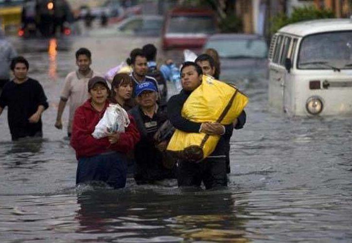 Hay 35 lesionados por los fenómenos meteorológicos Manuel e Ingrid.(ntrzacatecas.com)