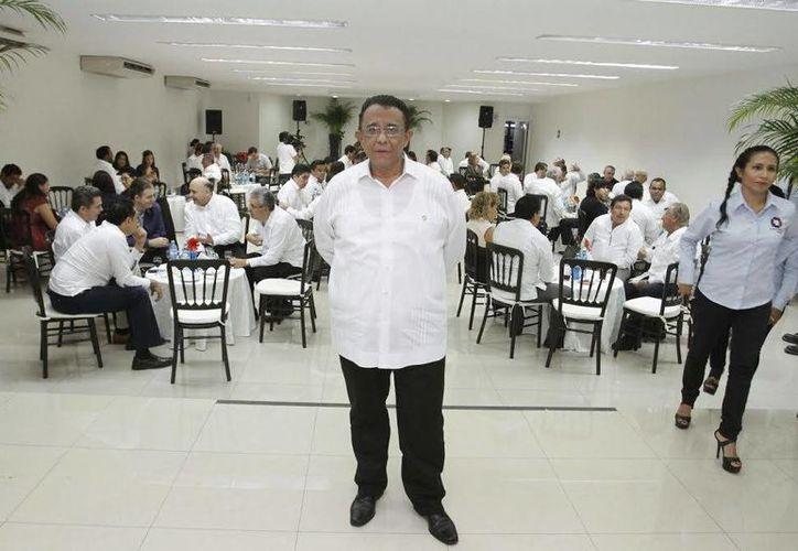 Mario Can Marín es el nuevo dirigente del Consejo Coordinador Empresarial de Yucatán. Sustituye a Juan José Abraham Daguer. (Archivo/SIPSE)