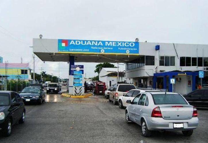 La frontera de Quintana Roo, es uno de los muchos cruces que se pueden realizar a pie para introducirse al país con rumbo a Estados Unidos. (Cortesía)