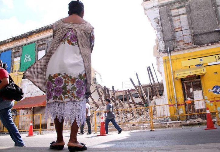 El Gobierno estatal exhortó a dueños de predios en riesgo a cumplir con requerimientos de reparación. (Milenio Novedades)