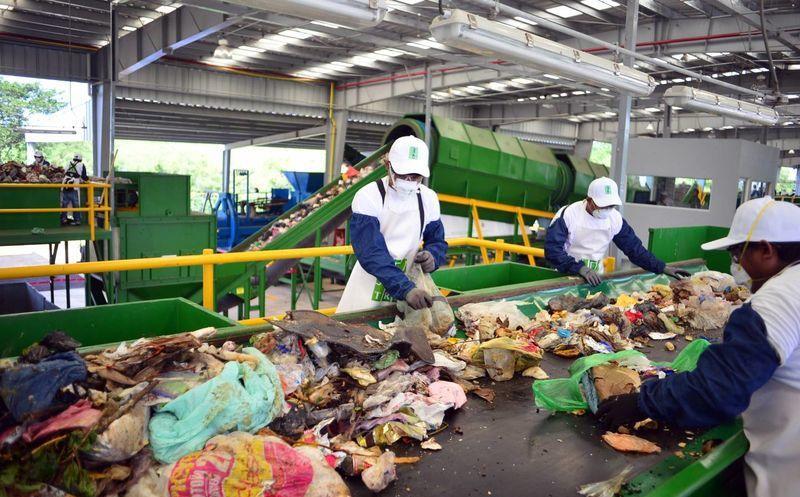 planta de reciclaje beneficia al relleno sanitario de