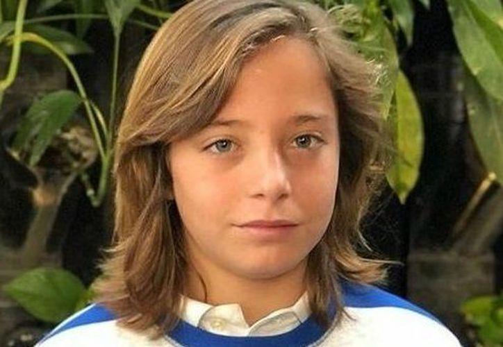 Izan Llunas es nieto de José Gómez Romero (Dyango) e hijo de Marcos Gómez Llunas. (Vanguardia MX)
