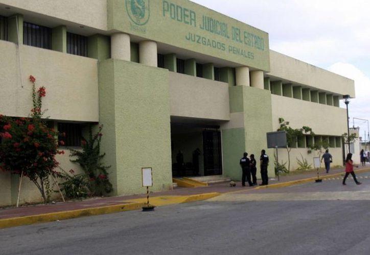 Frente a los juzgados penales se ubicará el nuevo edifico para juicios orales. (SIPSE)