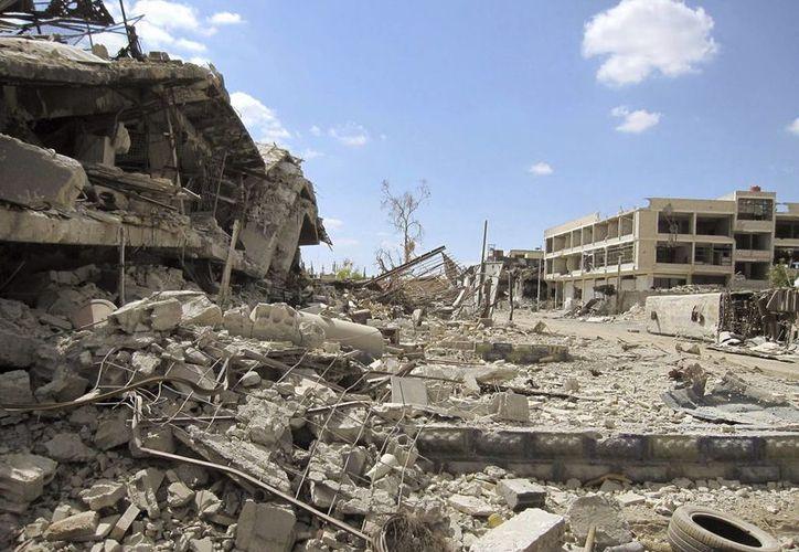 En los últimos meses, los rebeldes sirios han lanzado una serie de proyectiles de mortero en el exclusivo distrito de Mazraa de Damasco. (Archivo/EFE)