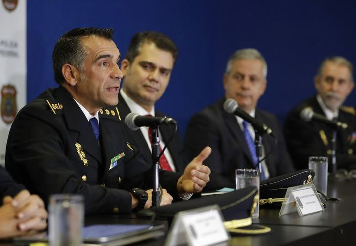 Las autoridades de Sao Paulo dieron los detalles de la detención, en conferencia de prensa. (vanguardia.com)