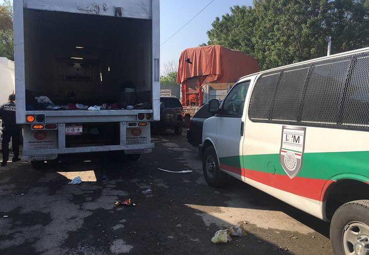 Ayer se dio a conocer el aseguramiento de 16 hondureños en el municipio de Cruillas. (Excélsior)
