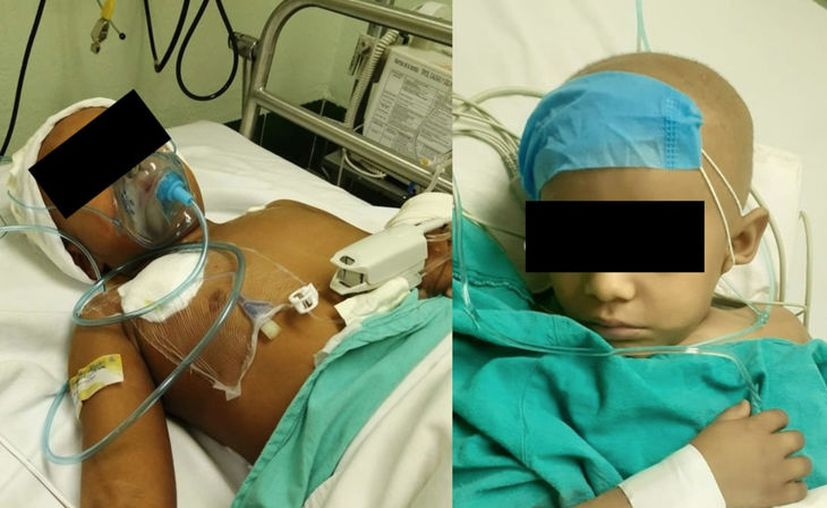 A los dos años fue diagnosticado a los dos años de edad con cáncer testicular. (Novedades Yucatán)