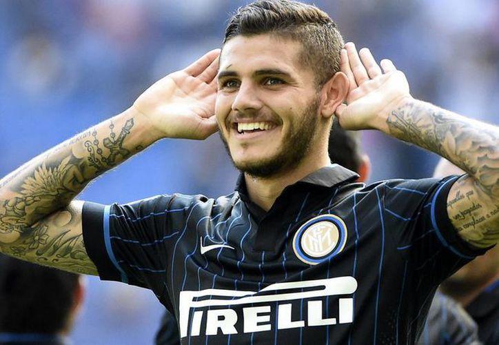 Mauro Icardi es un prometedor delantero del Inter de Milan, que podría jugar en Inglaterra dentro de poco tiempo. (goal.com)