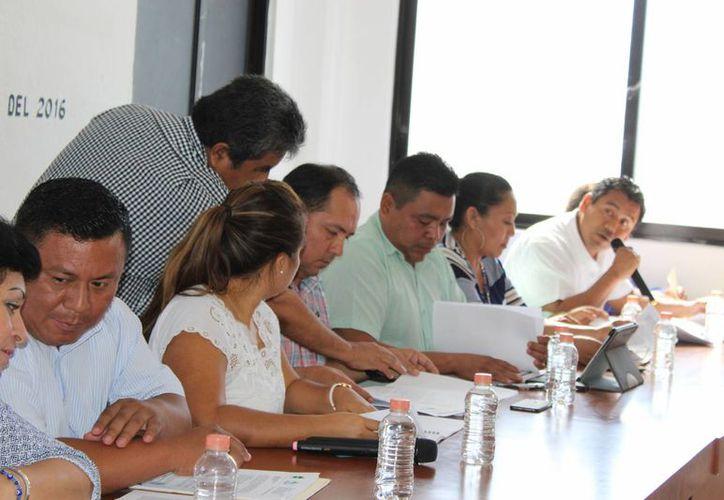 En la sesión fue validada la instalación del COPLADEMUN. (Sara Cauich/ SIPSE)