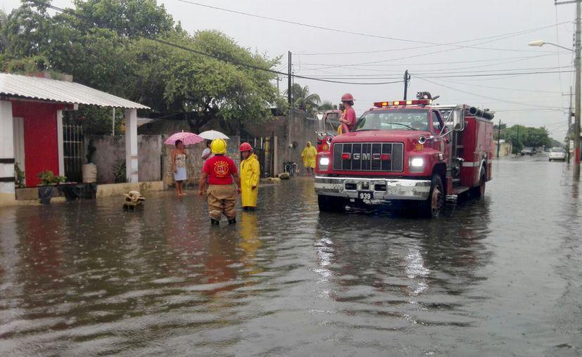 Las lluvias de los últimos días ha causado estragos en la ciudad. (Cortesía)
