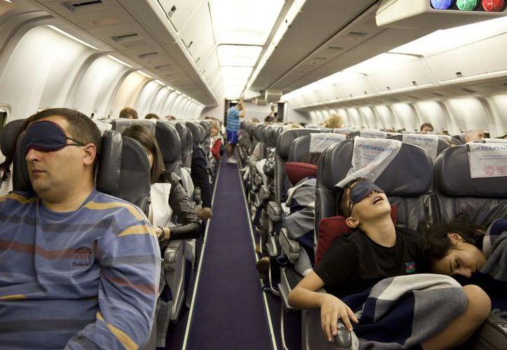 Los investigadores recomiendan a los pasajeros que se mantengan despiertos. (Contexto)