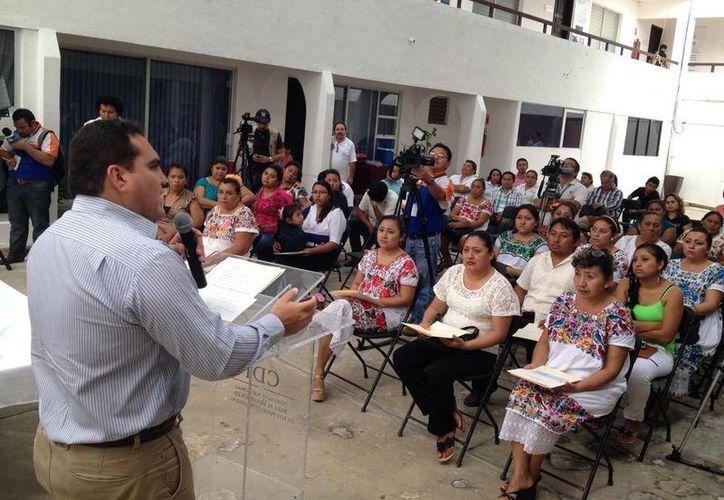 Los proyectos desarrollarán temas de interés social para el pueblo maya. (Milenio Novedades)