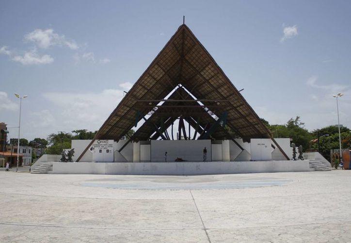 El parque de Las Palapas cuenta con el servicio. (Sergio Orozco/SIPSE)