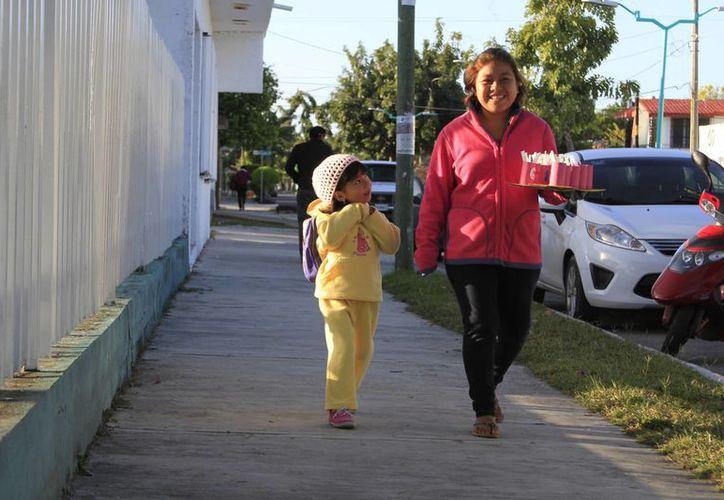 El otoño ha comenzado a disminuir la temperatura mínima en los termómetros, en Quintana Roo. (Paloma Wong/SIPSE)
