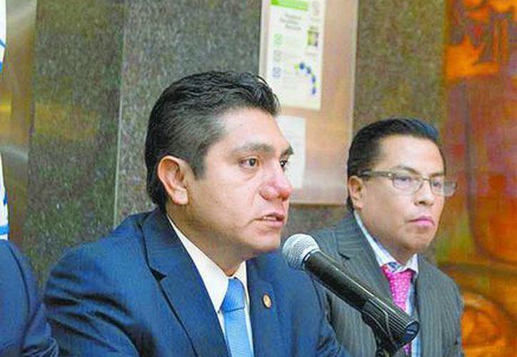 Preciado, el coordinador del PAN en el Senado, levantó una denuncia por despojo ante instancias judiciales. (Milenio)