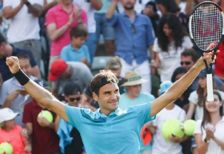Nuevamente campeón del mundo, Federer. (Foto: ESPN)