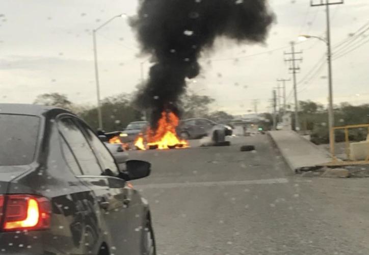 Dos fracciones del Cártel del Golfo se enfrentan en Reynosa. (Twitter)