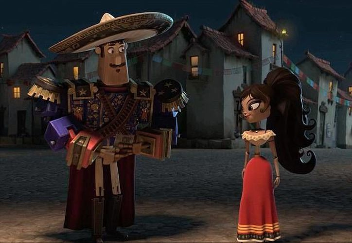 'The book of life' es una de las cintas animadas que son candidatas para los premios Oscar. (dailymail.co.uk/Foto de archivo)